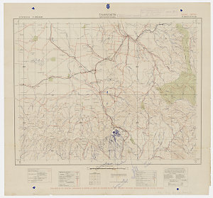 Tamworth, New South Wales [cartographic material] / [prepared by Australian Section Imperial General Staff]