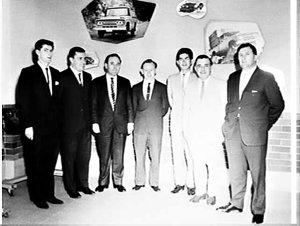 Staff of Thiess Toyota, Rosebery