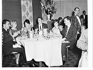Shell Christmas dinner party, Menzies Hotel