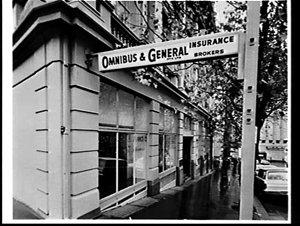 Exterior, Omnibus & General Ltd., Insurance Brokers, Sydney
