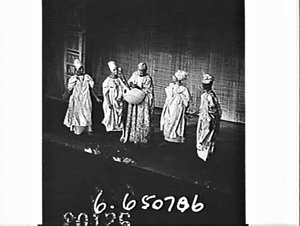Ballet of African dancers, Theatre Royal