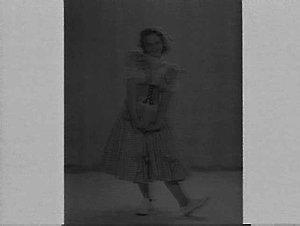 Studio portrait of a female dancer