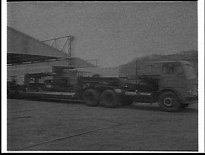 DMR (Dept. of Main Roads) low loader truck