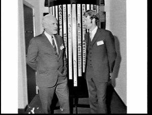 Opening of Letraset House, Sydney