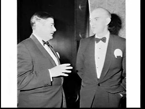 Chamber of Manufactures Annual Dinner 1971, Wentworth Hotel