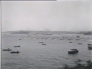 Naval display, Sydney Harbour