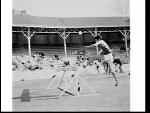 Sydney University Athletics Club and New Caledonia athletics meet, Sydney University