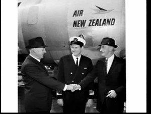 Air New Zealand celebration of Sir Charles Kingsford-Smith's 1928 flight, Kingsford-Smith Room, Mascot Airport