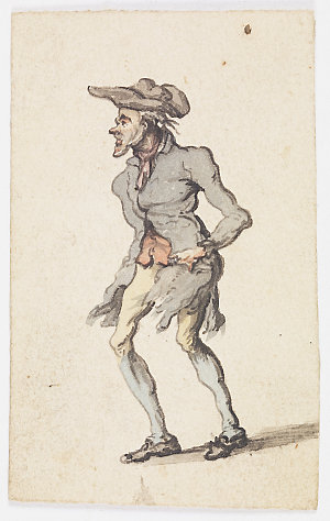 Watercolour drawings of English sentimental genre scenes, ca. 1760-1800 : artist unknown