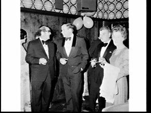 Local member Joe Riordan at a formal reception, Coogee-Randwick RSS & A CLub