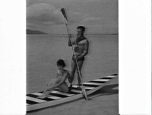 Advertising photographs for Airlines of NSW, Hayman Island