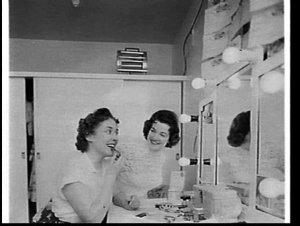 Miss New Australia 1957, Anita Wassmundt, in Sydney