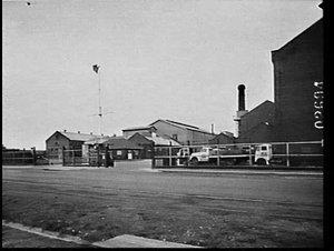 B.A.L.M. Paints factory at Cabarita