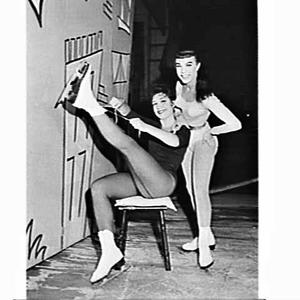 Women in the Ice Follies, Tivoli Theatre (for the Adelaide press)