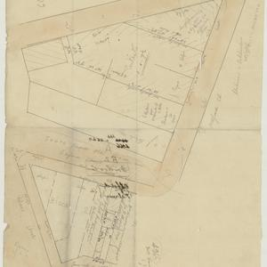 [Woolloomooloo subdivision plans] [cartographic material]