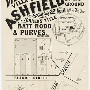 [Ashfield subdivision plans] [cartographic material]