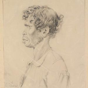 Charles Rodius portraits of New South Wales Aboriginal Australians, ca. 1844