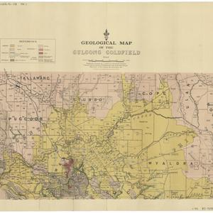Geological map of the Gulgong goldfield [cartographic material] / geologically surveyed by L. J. Jones.