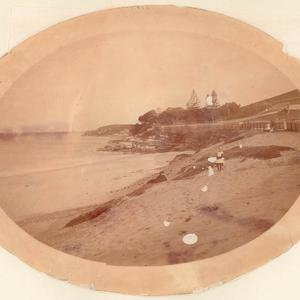 An early picture of Coogee Beach, Sydney