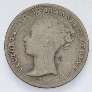 Item 0879: Fourpence (Groat), 1846