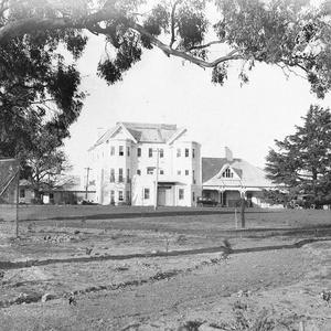 An old mansion at Yarralumla