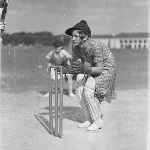 Rita Trudget [Trudgett ?], wicket keeper