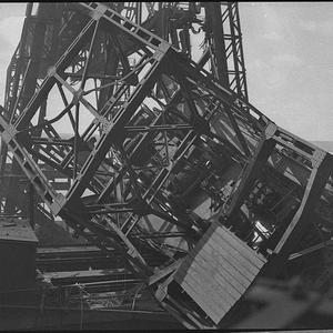 Crane crash at BHP