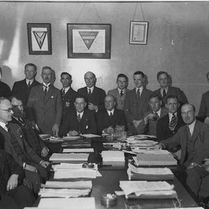 """Conference of """"Toc H"""" delegates"""