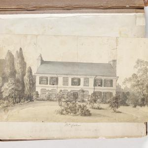[Views of residences of the Manning family, ca. 1860-1870]