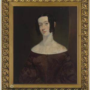 Item 12: Portrait of first wife of Duncan Mearns Maitland Senior