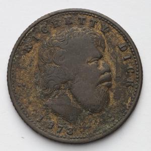 Item 0022: Ricketty Dick, 1873 [bronze medal]