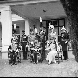 The Duke of Gloucester in Canberra