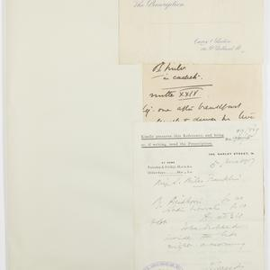 Item 1: Miles Franklin. Papers. Miscellaneous. Miscellanous papers, ca. 1917-1950