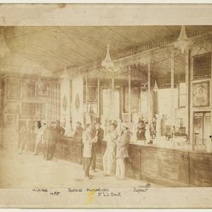 [Crystal Bar at Cremorne Gardens, Richmond, Victoria, ca. 1860] / photograph by Talma