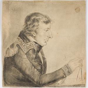 [Portrait of Commandant en Chef Nicolas Baudin, ca. 1802] / N. Petit [Nicolas-Martin Petit]