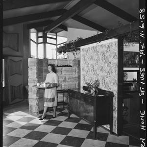 Modern house in St Ives, 11 June 1958 / photographs by Lynch