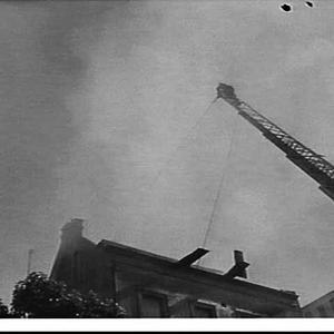 Fire at Buckingham's store in Oxford Street, Darlinghurst