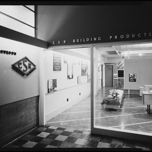 Job no. 2933: CSR showroom, interiors with product and building displays, March 1958 / photographs by Max Dupain