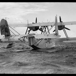 Anniversary Day [seaplane on water], 26 January 1938