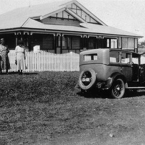 Robson Family holidaying at Mr Lindman's house, corner of Lord & Church Street - Port Macquarie, NSW