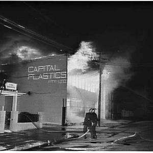 Fire at Capital Plastics, Marrickville