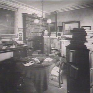 Residence of late D.S. Mitchell; the dining room