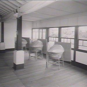 Tresillian Home Willoughby. Open air verandah