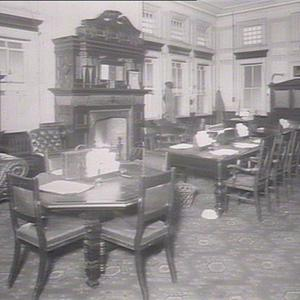 Govt. supporters room