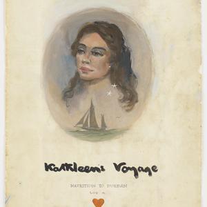 File 04: Kathleen's voyage Mauritious [Mauritius] to Durban, Log 4, 1947