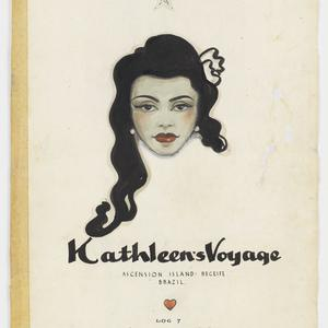 File 07: Kathleen's voyage, Ascension Island, Receife, Brazil, Log 7, January, February, March 1948