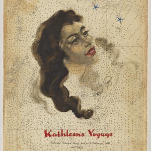 File 10: Kathleen's voyage, Jamaica, Panama Canal and on to Fakarava Atoll and Tahiti, 1948, Log 10