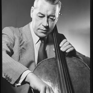 Job no. 2244: Portrait of musician Laurie Kennedy with cello, May 1948 / photographs by Max Dupain