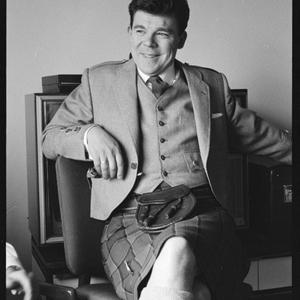 Andy Stewart, Scottish comedian, at Chevron Hilton, May 1963 / photographs by Ivan