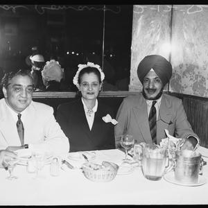 Romano's luncheon parties, 2 December 1952 / photographs by Milton Kent
